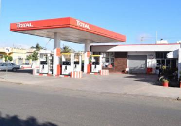 Total Asmera service station